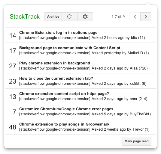 Stack Exchange question notifier | Boris Smus
